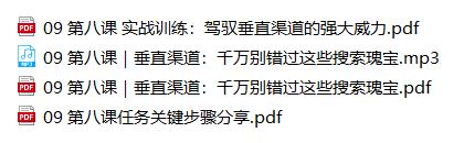 21天从零掌握超级搜索技巧完结版(2020/12/17)