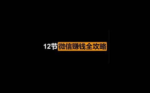 瑞银:12节微信赚钱全攻略完结版(2020/11/21)