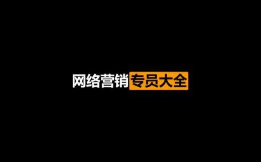 某盛:网络营销专员大全课程(2021/1/29)