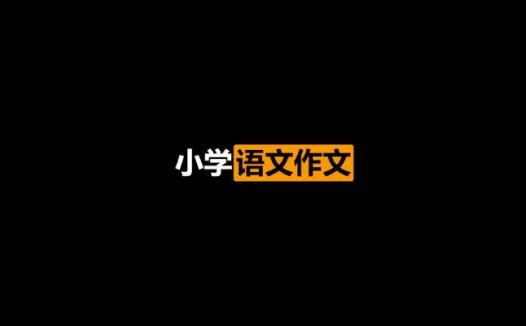 曾曦小学语文作文独创方法-全年精进班完结版(2021/01/16)